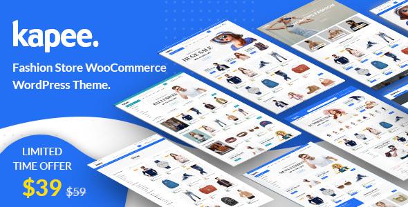 Kapee – Fashion Store WooCommerce Theme – WP Theme Download