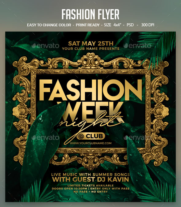 Flyers PSD – Fashion Flyer – Download