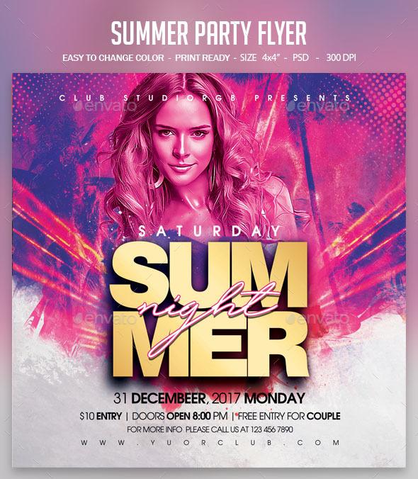 Flyers PSD – Summer season Secure together Flyer – Download