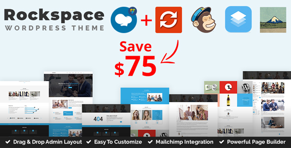 Rockspace – Multipurpose WordPress Theme – WP Theme Download