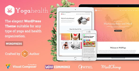 Susastho – Neatly being and Yoga WordPress Theme – WP Theme Download