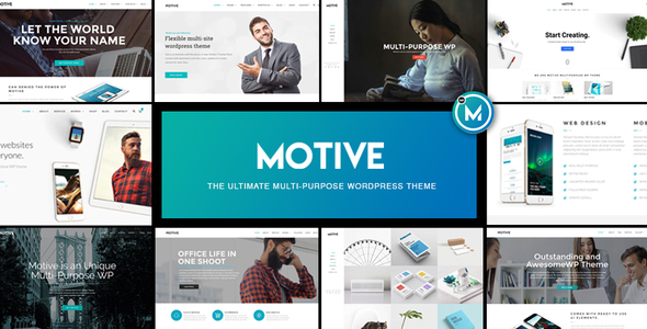 Motive – Multi-Cause WordPress Alternate Theme – WP Theme Download