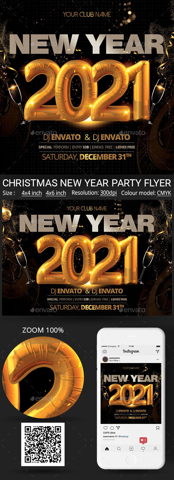 Flyers PSD – Recent Yr – Download