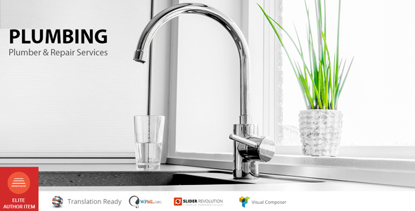 Plumbing – Restore products and companies WP Theme – WP Theme Download