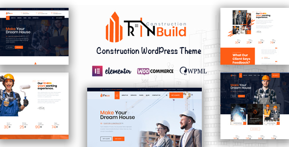 Rin Manufacture – Constructing Firm WordPress Theme – WP Theme Download