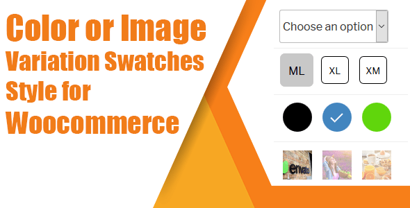 WooCommerce Variation Swatches( Coloration, Image or Button ) – PHP Script Download