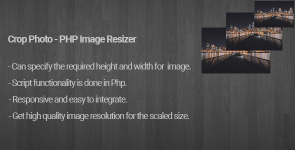 Cut Photo – PHP Image Resizer – PHP Script Download