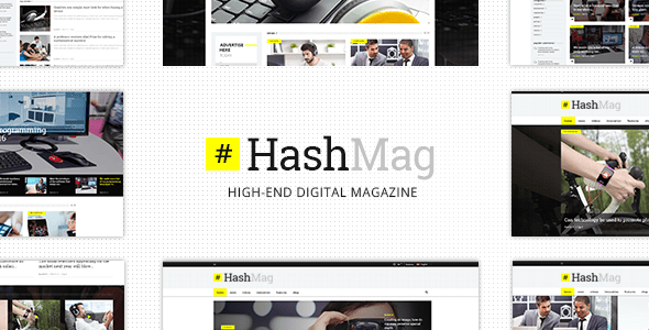 HashMag – Journal & Data Theme – WP Theme Download