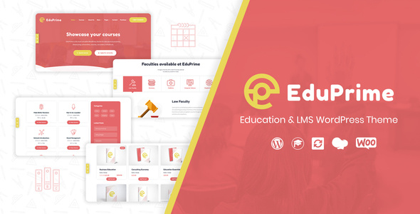 EduPrime – Education & LMS WordPress Theme – WP Theme Download