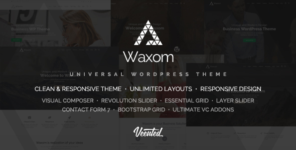 Waxom – Dapper & Trendy WordPress Theme  – WP Theme Download
