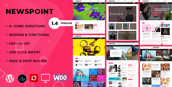 Newspoint – Running a blog WordPress Theme – WP Theme Download