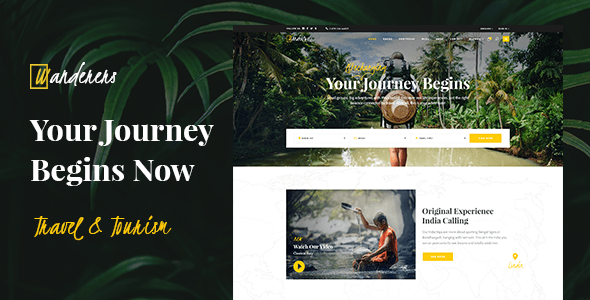 Wanderers – Adventure Budge & Tourism Theme – WP Theme Download