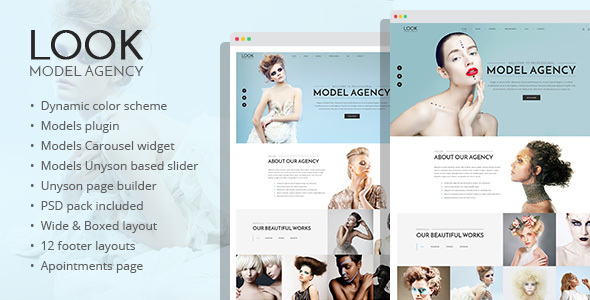 Scrutinize – vogue and mannequin portfolio WordPress theme – WP Theme Download