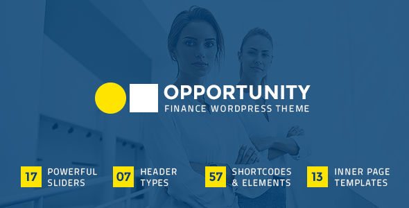 Opportunity – Finance Theme  – WP Theme Download