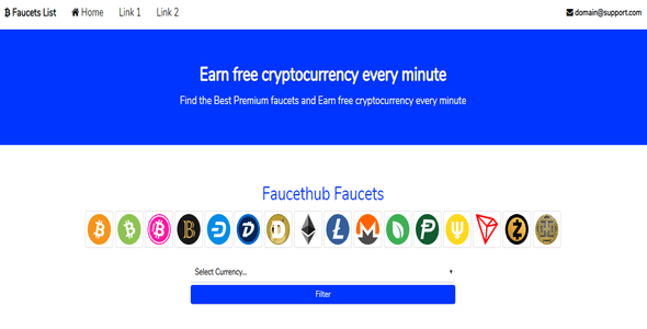 Cryptocurrency Faucet Checklist – PHP Script Download