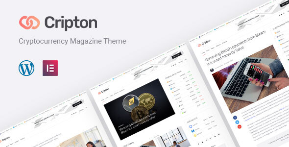 Cripton | Cryptocurrency Elementor Magazine WordPress Theme  – WP Theme Download
