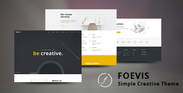 Creative Agency WordPress Theme  – Foevis – WP Theme Download