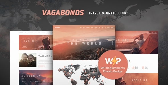 Vagabonds | Non-public Dawdle & Standard of living Weblog WordPress Theme – WP Theme Download