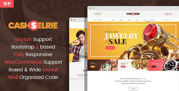 Cashelrie – Pawn Shop WordPress Theme – WP Theme Download