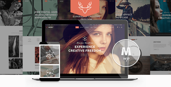 Moose – Creative Multipurpose Theme  – WP Theme Download