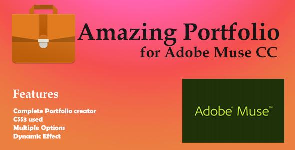 Incredible Porfolio for Adobe Muse  – PHP Script Download