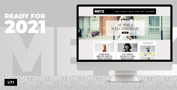 Metz – A Common Editorial Magazine Theme  – WP Theme Download