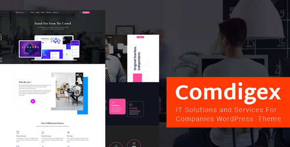 Comdigex – IT Alternatives and Providers and products Company WP Theme  – WP Theme Download
