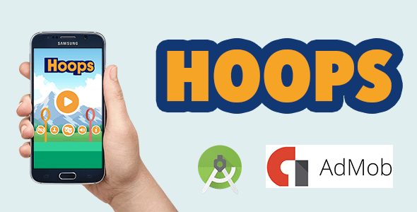 Hoops Android FULL (Android Studio Mission + PNG Files + Admob)  – PHP Script Download