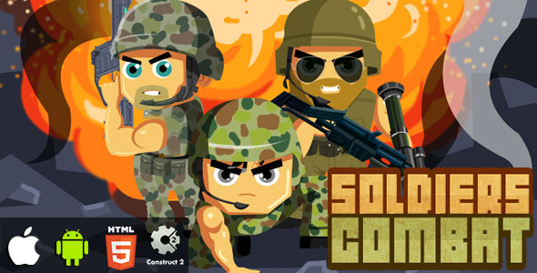 Troopers Combat – HTML5 Game (CAPX)  – PHP Script Download