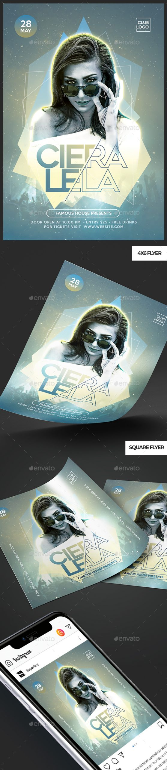 Flyers PSD – Event Flyer  – Download
