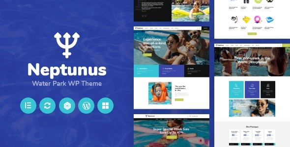Neptunus – Water & Amusement Park WordPress Theme  – WP Theme Download