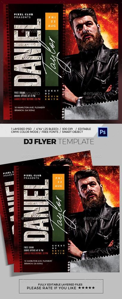 Flyers PSD – Dj Flyer  – Download