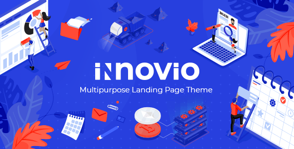 innovio multipurpose landing web page theme download