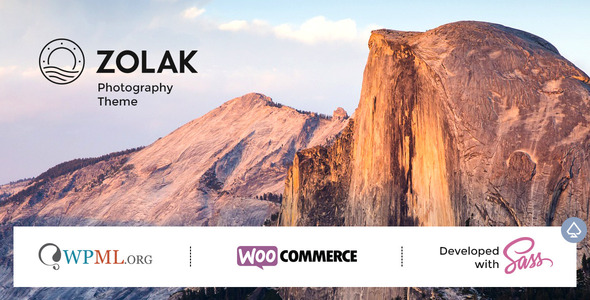 Zolak – Photography Theme – WP Theme Download