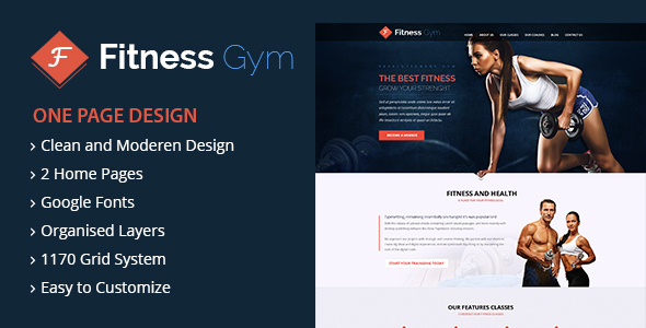 FItness – WordPress Theme – WP Theme Download
