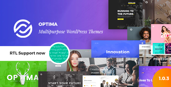 Optima – Multipurpose WordPress Theme – WP Theme Download