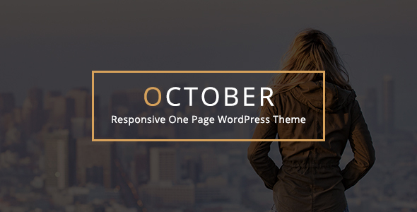 october responsive one net page wordpress theme download