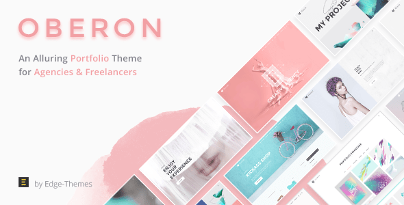oberon freelancer portfolio theme download