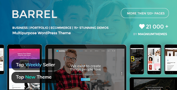 Barrel – Ingenious Company Industry Responsive Multi-Motive WordPress Theme – WP Theme Download