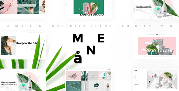 mane inventive portfolio theme download