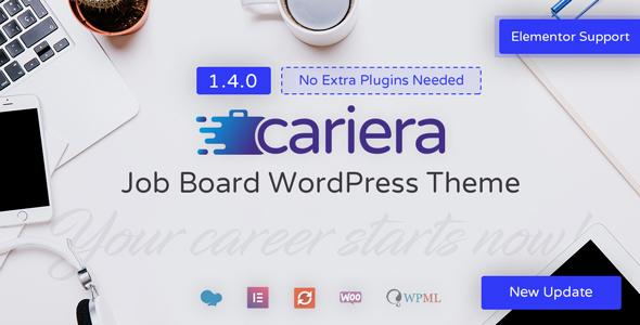 cariera job board wordpress theme download