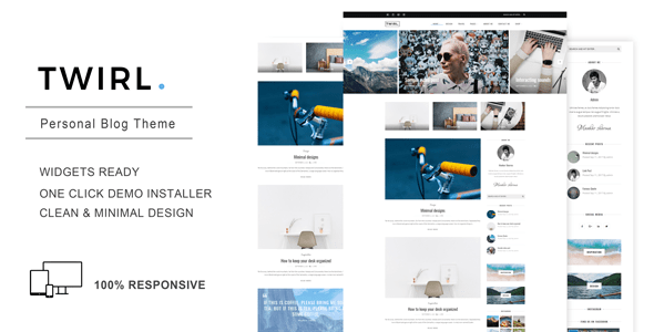 twirl a non public wordpress weblog theme download