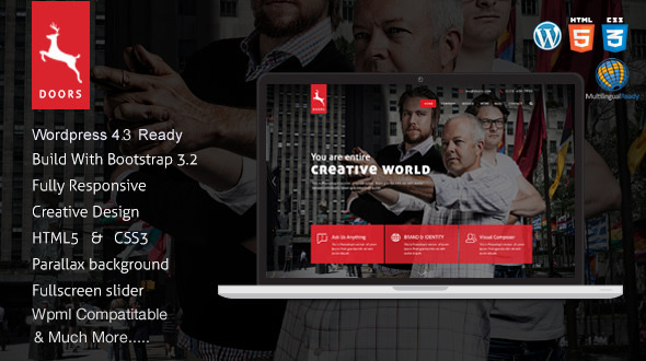 Handing –  Responsive One PaGe Wp-admin THEME – WP Theme Download