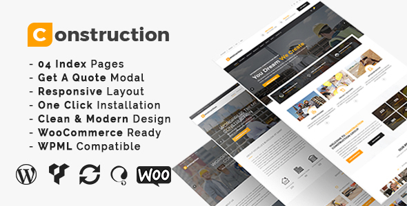construction constructing alternate and renovation wordpress theme download