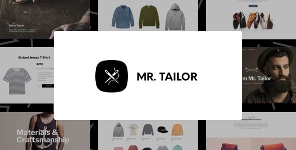Mr. Tailor – Trend and Garments Online Store Theme for WooCommerce – WP Theme Download
