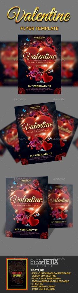 valentine flyer download