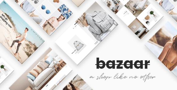 Bazaar – eCommerce Theme  – WP Theme Download