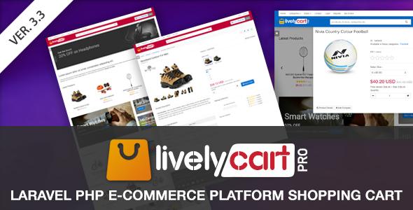 LivelyCart PRO – Laravel E-Commerce Platform | Shopping Cart – Download