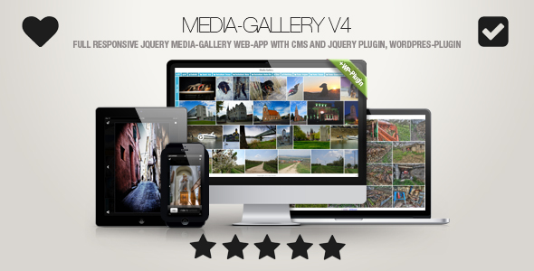 Media-Gallery – Contact-Enabled jQuery Portray Gallery incl. WP-Plugin – Download