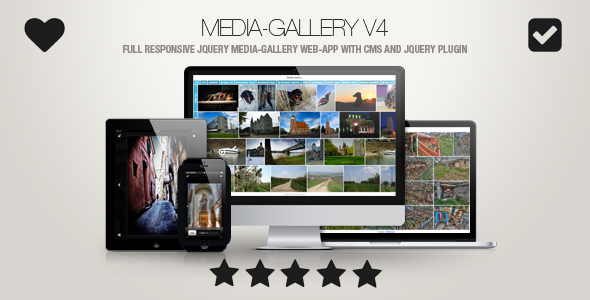 Media-Gallery – Contact-Enabled jQuery Image Gallery Web-App – Download